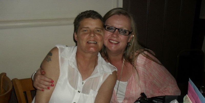 Debbie and Clare (2)