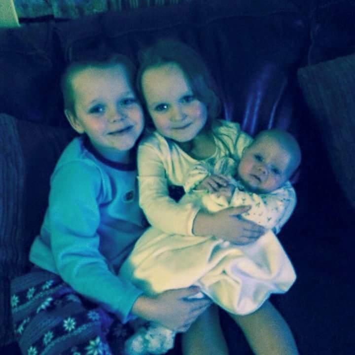 Brandon Lacia and baby Lia