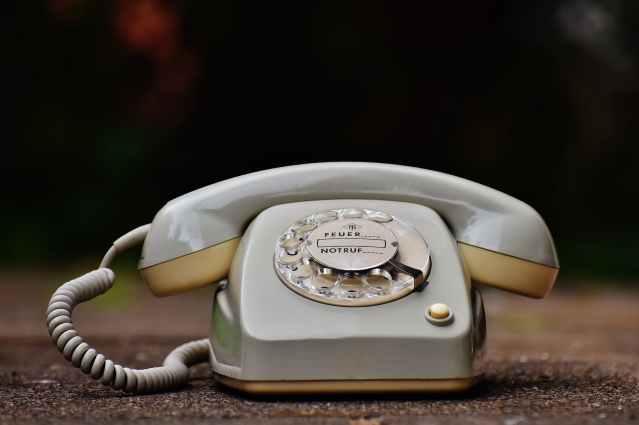 antique close up cord dial