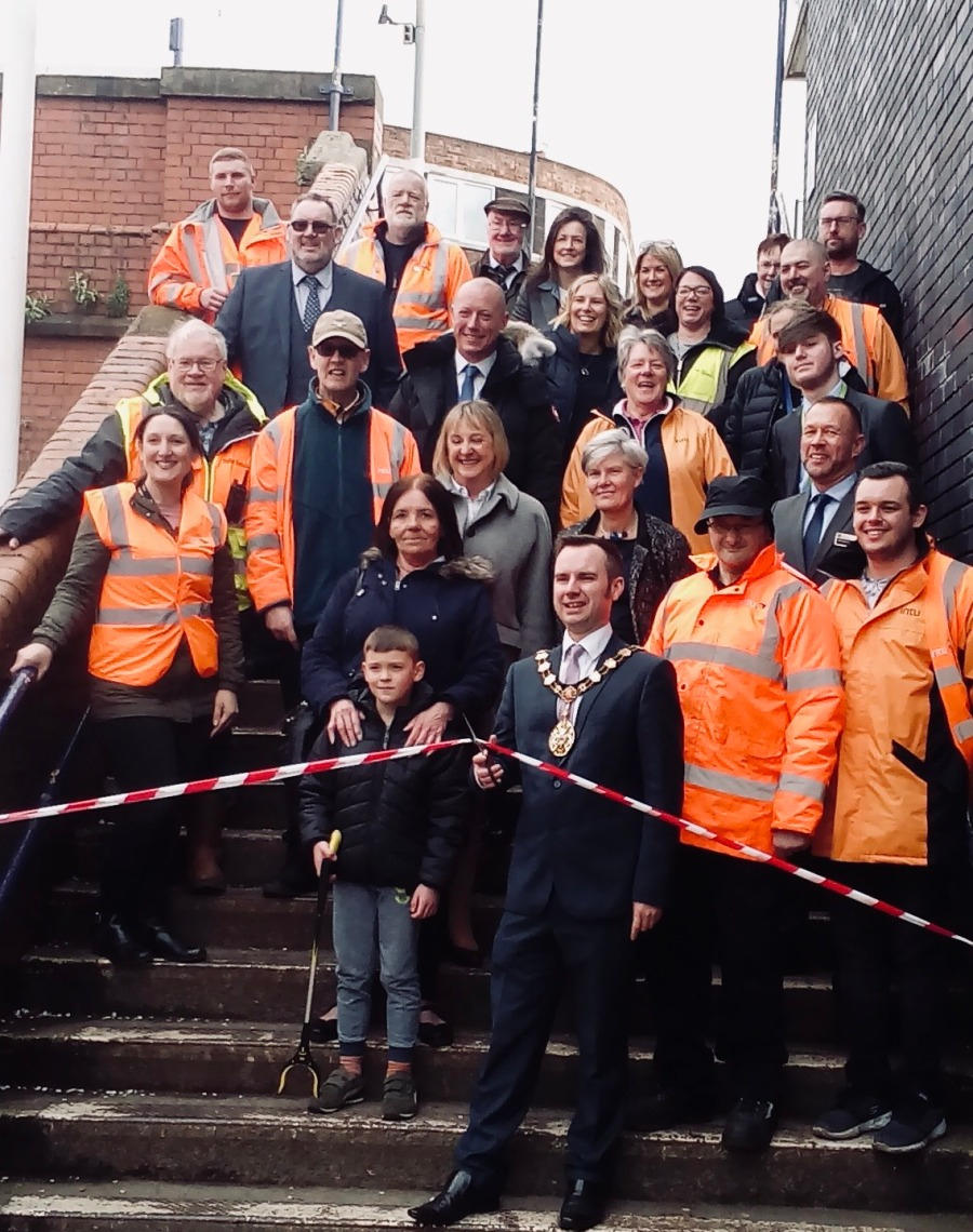 Launch of Friends of Urmston Station (1)