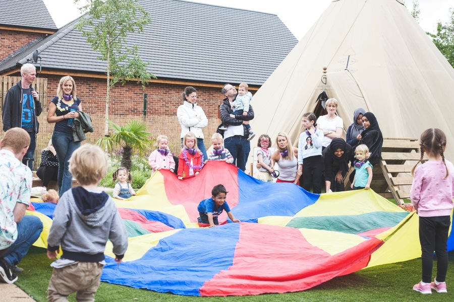 Back to the Garden Childcare celebrates its 1st birthday