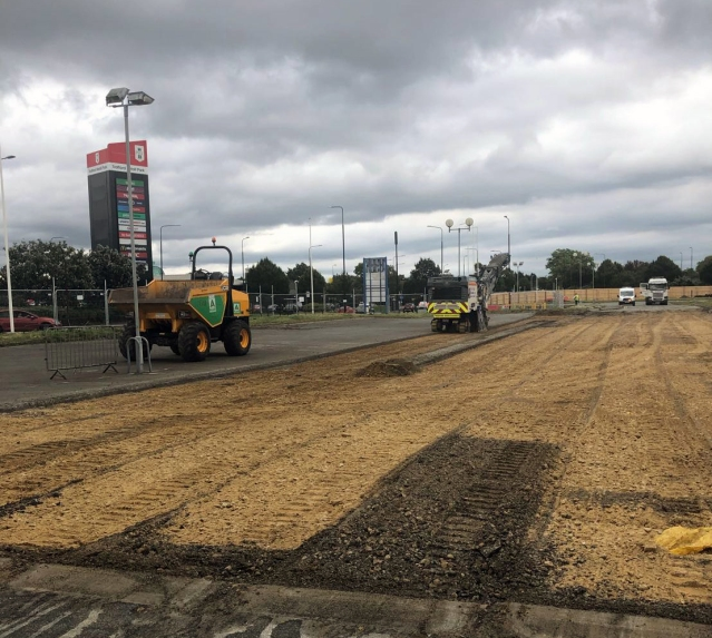 Work starts on phase two of Trafford Retail Park