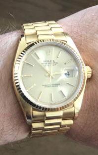 robbed watch