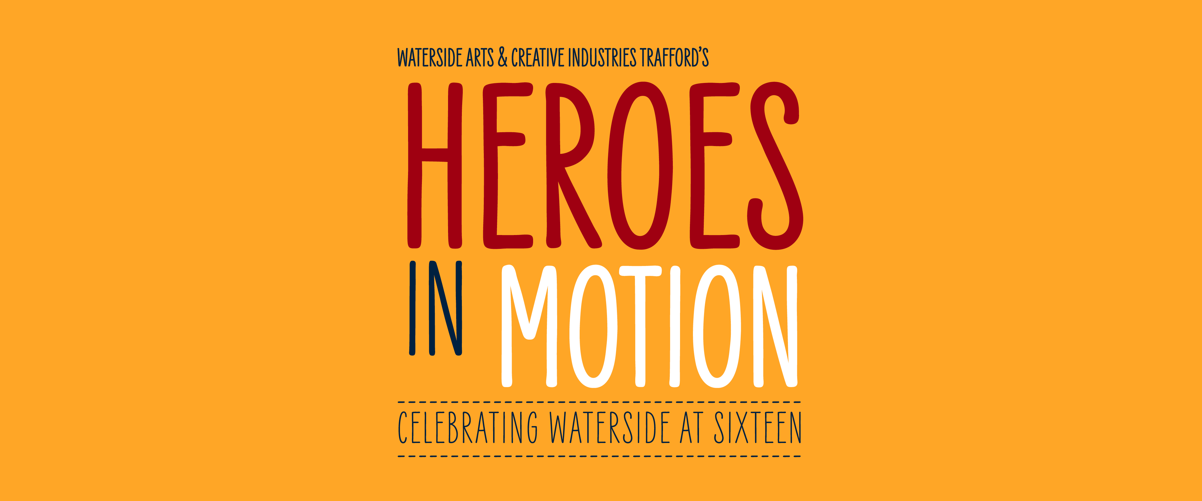 Heroes in Motion logo on Orange RGB