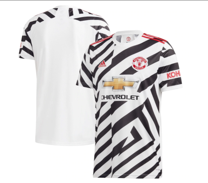 New Zebra Style Man United Third Shirt Is Released Today